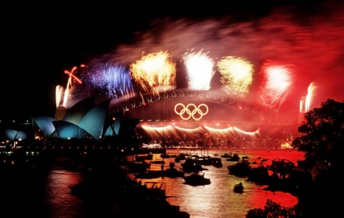 Famous Sydney Harbour Bridge Olympic Rings Up for Sale on EBay (Again)