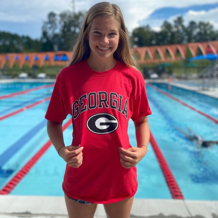 Georgia Bulldogs Grab Another 2021 Sprint Commitment from Hailey Hicks