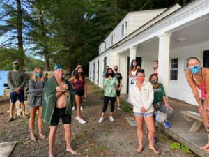 Dartmouth Class of '74 Alumni Completes 15 Mile Swim To Raise Pledges for DCSD