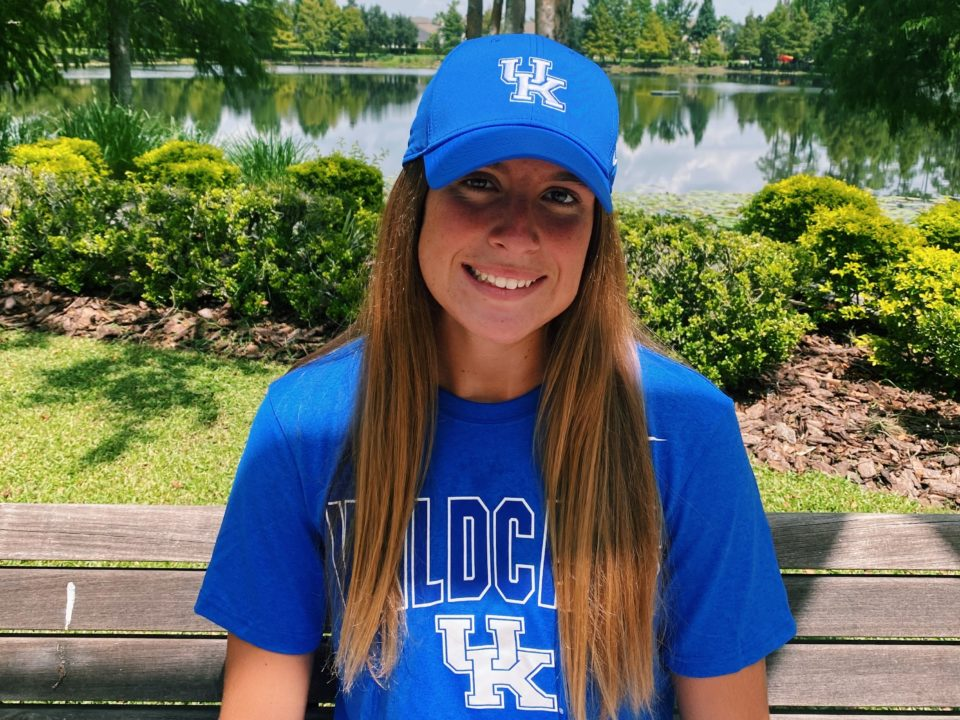 2-sport Athlete Jordan Agliano Verbally Commits to Swim for Kentucky in 2022-23