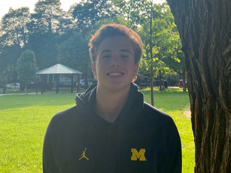 Michigan Scores Verbal Commitment from CWAC Sprinter Parker Nolan (2021)