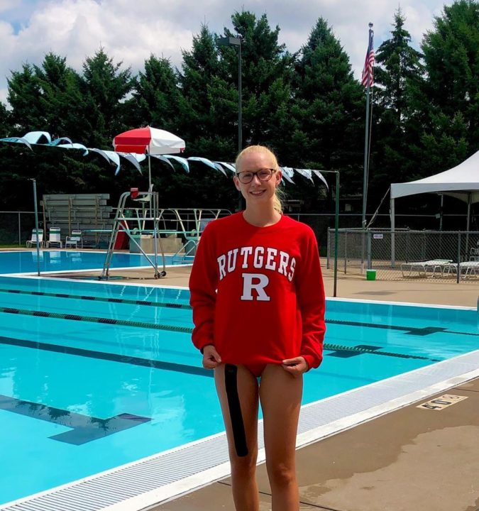 Natalie Schick Verbally Commits to Join Rutgers' Backstroke Tradition