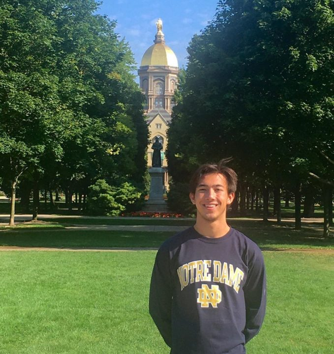 Notre Dame Picks Up Winter Juniors Finalist Bryce Ortanes for 2021