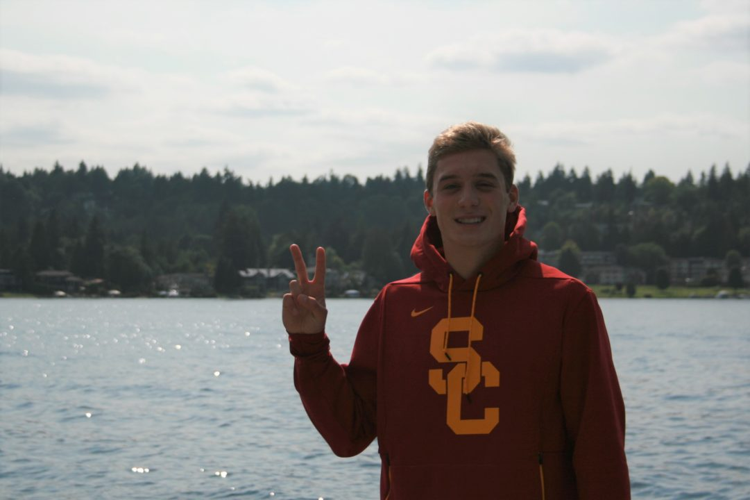 USC Men Jump into 2022 Recruiting with Verbal from Breaststroker Charlie Arnold