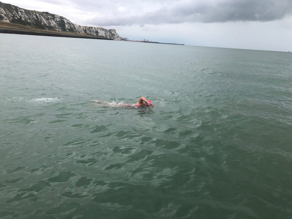 Vera Rivard Completes English Channel Crossing At 16