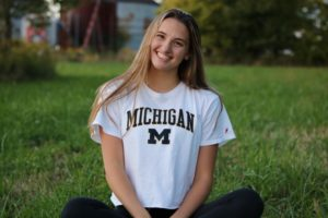 Michigan Women Launch 2022 Recruiting Push with Verbal from Devon Kitchel