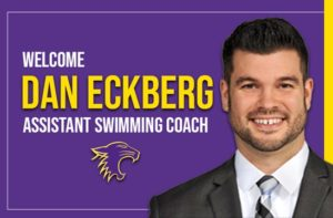 Dan Eckberg Joins St. Catherine Swimming as Assistant Coach