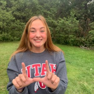 Colorado 4A Runner-Up Anelise Hedges Commits to Utah Swimming