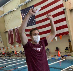 Former NC State Swimmer Daniel Graber Joins Virginia Tech Coaching Staff