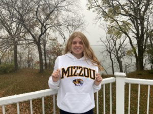 Minnesota HS Class A Record-Holder Grace Hanson Chooses Mizzou for 2022