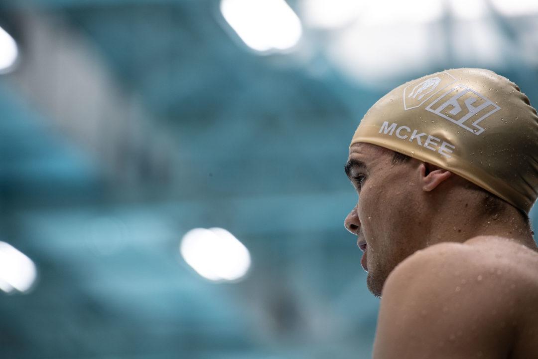 Anton McKee Breaks Icelandic, ISL Records in Men's 200 Breaststroke