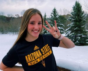 MN State Champion Katherine Randall (2022) Makes Verbal Commitment to ASU