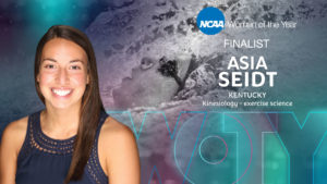 Kentucky Swimmer Asia Seidt Named Finalist for 2020 NCAA Woman of the Year