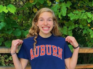 Olympic Trials Qualifier Ainsley Jones (2022) Sends Verbal to Auburn