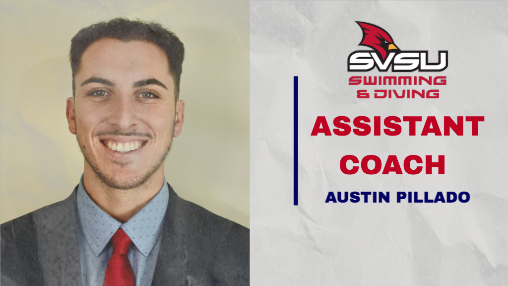 SVSU Swimming & Diving Welcomes Austin Pillado as Assistant Coach