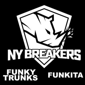 Funky Trunks & Funkita Announced As Major Sponsor of the New York Breakers