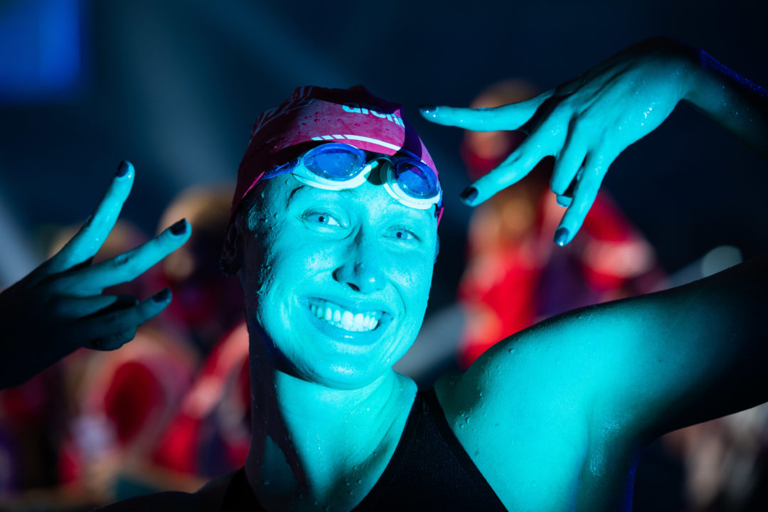 """Amy Bilquist on Swimming 200 Back: """"I protested it for the longest time""""(Video)"""