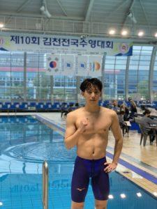 Cho Sungjae, primer coreano por debajo del minuto en 100 braza