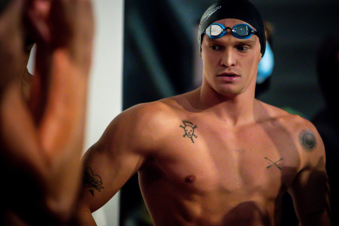 Global Pop Star Cody Simpson Qualifies for Australian Olympic Swimming Trials