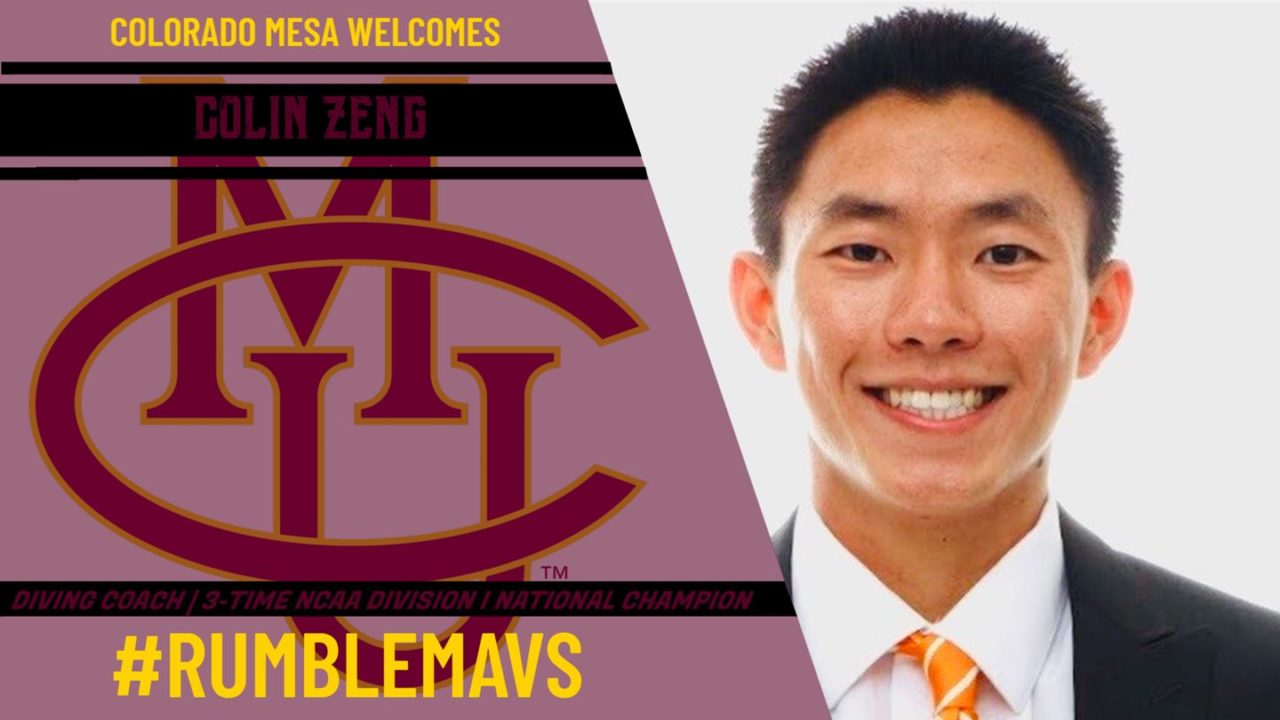 Colin Zeng Named New Colorado Mesa Diving Coach