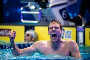 2021 Stockholm Open Day One: Felix Auboeck Nails 3:44.51 400 FR, Now World #3
