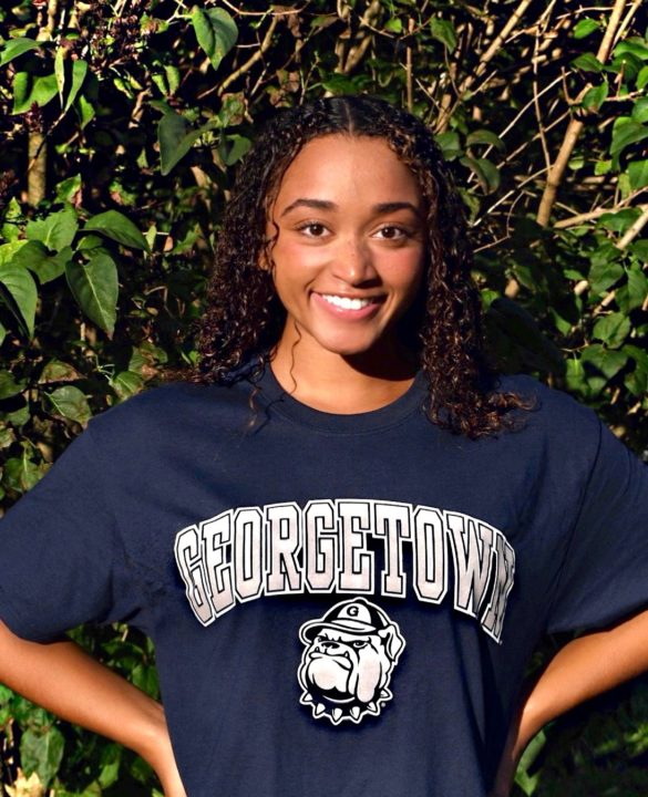 Georgetown University Receives Verbal from IM Specialist Tia Thomas for 2021