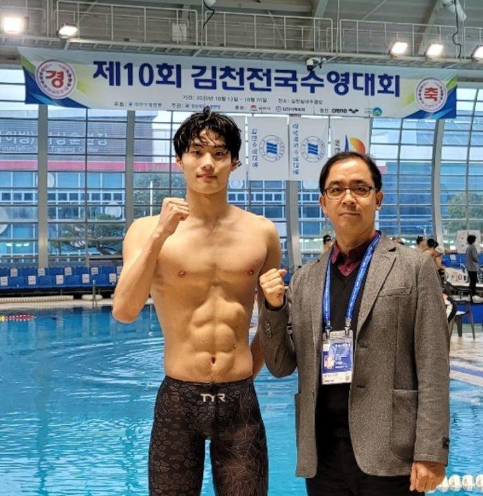 Faster Than Phelps: 17-Yr-Old Hwang Sun Woo Hits 1:45.92 LCM 200 Free WJR