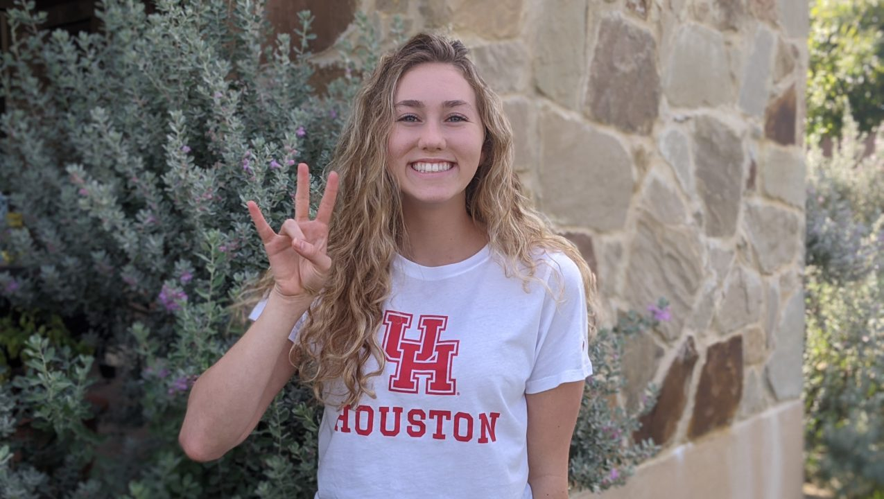 University of Houston Picks Up Freestyle Specialist Lauren Chaney for 2021