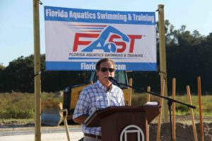 Circle Square Foundation Breaks Ground for Florida Aquatics Swimming & Training