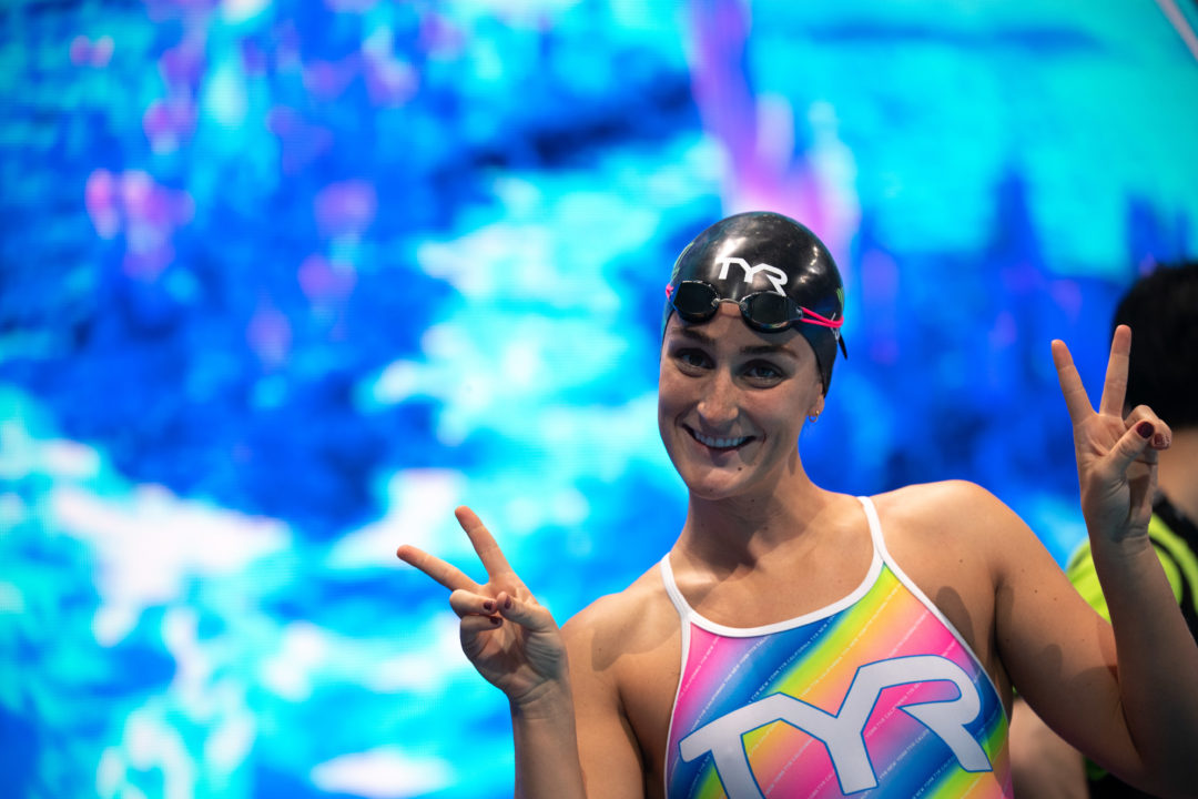2nd Seed Leah Smith Scratches 400 IM For Indy Pro Swim Series Day 3 Finals