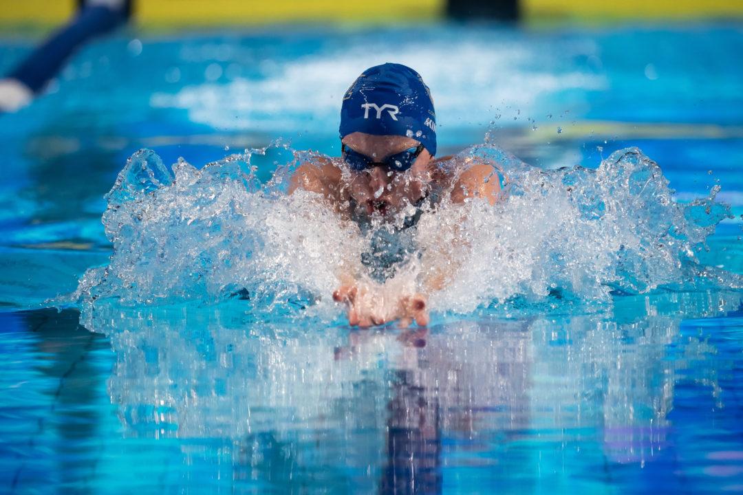 Con sus 2:16.04 en 200 braza, Lilly King asciende al #6 de todos los tiempos