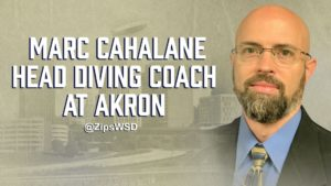 Marc Cahalane Named Head Diving Coach At Akron