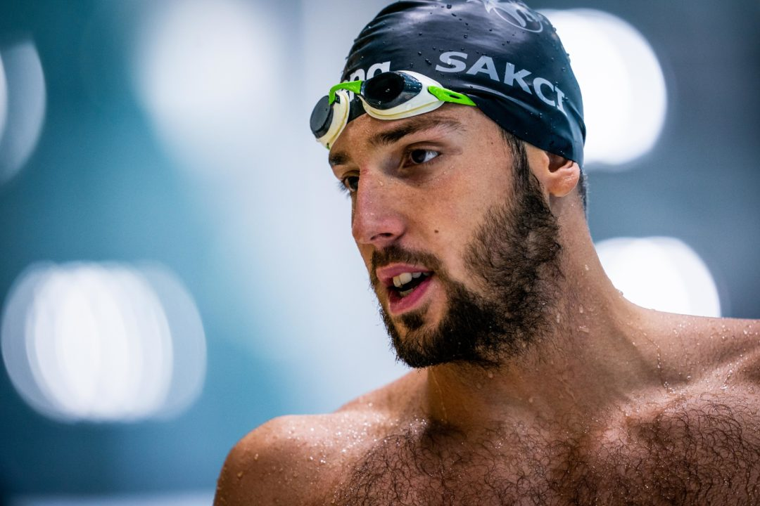 Emre Sacki Stabilisce il Record Europeo 50 Rana Terzo All Time