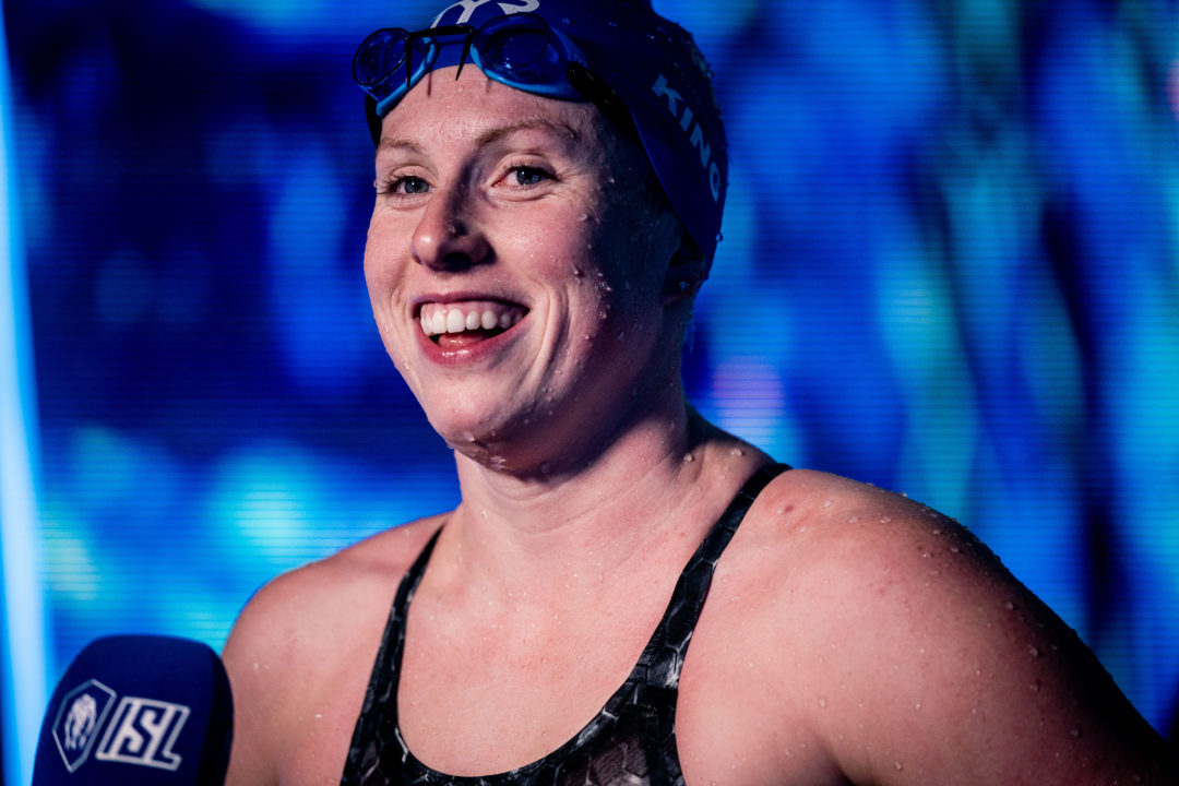 "Townley on Lilly King: ""It's kinda hard to put into words how great she is"""