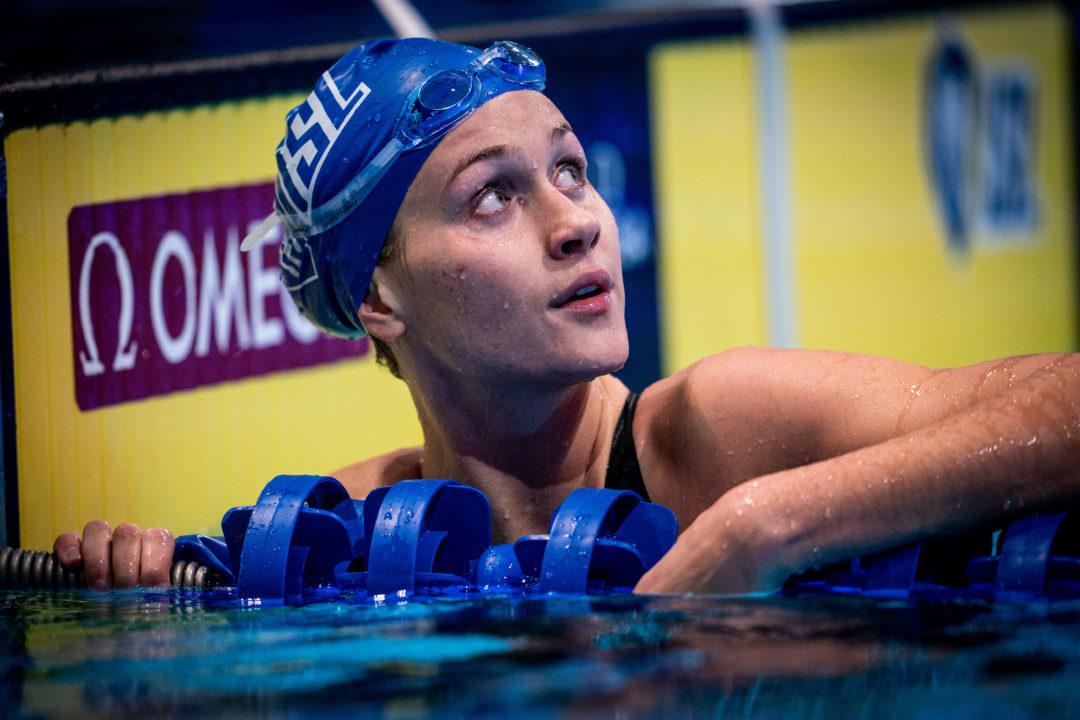Olivia Smoliga Details Brutal Kick/Swim 50s During 6-Week UGA Training Camp