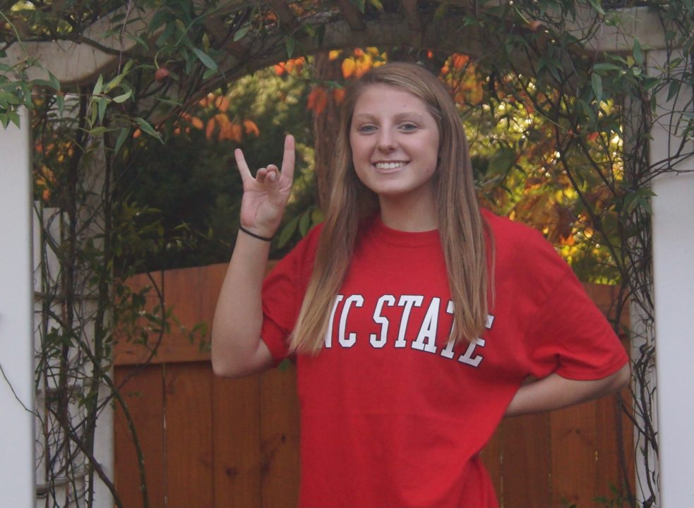 NCHSAA 3A State Champ Emma Hastings Verbals to In-state NC State Wolfpack