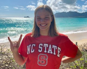 NC State Reels in Verbal from Hawaii State Record-holder Grace Monahan (2022)