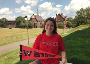 Olivia Stevenson Commits to Wesleyan University Cardinals