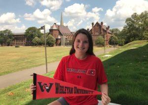 Olivia Stevenson Commits to Wesleyan University Cardinals