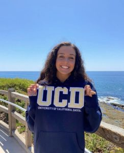 Sasha Soroosh Commits to Swim for University of California, Davis