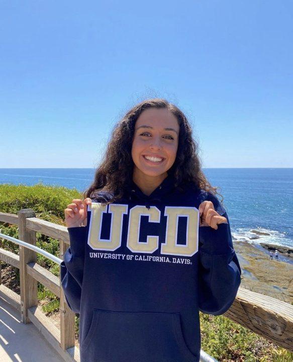 Sasha Soroosh Commits to Swim for University of California, Davis