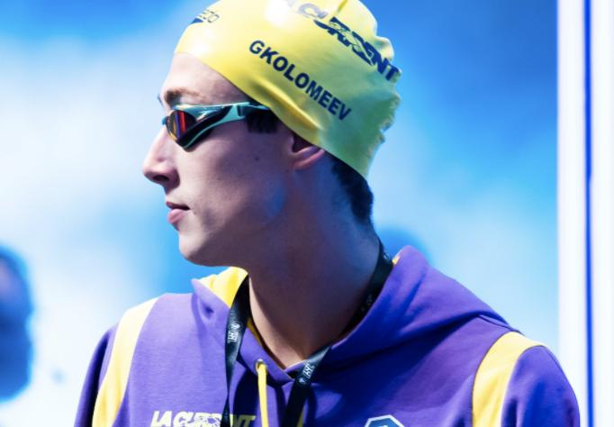 Former NCAA Champion Gkolomeev Breaks Greek Record, Wins His First ISL Race