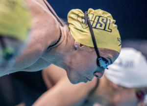 Abbey Weitzeil Clips Dara Torres' American Record With 23.79 In 50 (SCM) Free