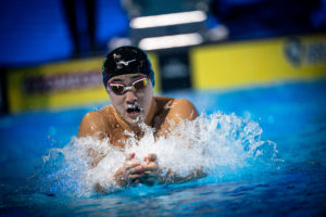 Swim of the Week: Shoma Sato's 2:06.40 In 200 Breaststroke