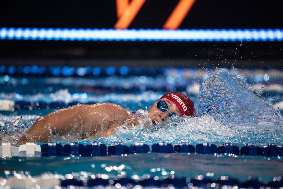Siobhan Haughey Breaks Asian Record in 200 SCM Freestyle, Moves to #7 All-Time