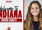 Indiana's Dodson Announces Signing Of Transfer Sophie Leggett