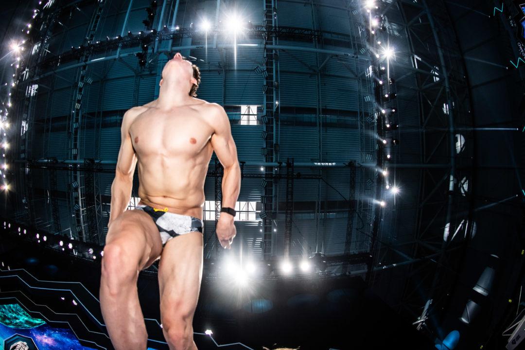 Tommy Cope Almost Even Splits Backstroke-Breaststroke Legs on 400 IM