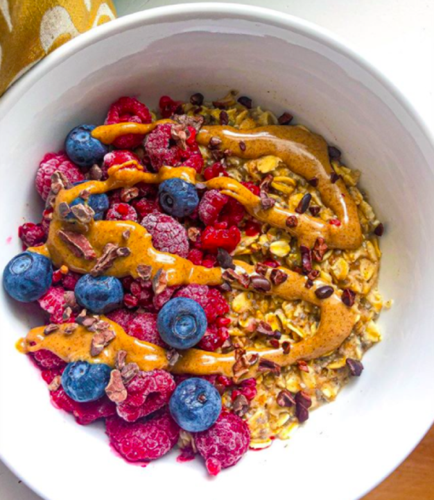 The Hungry Swimmer: All About Oatmeal 2.0