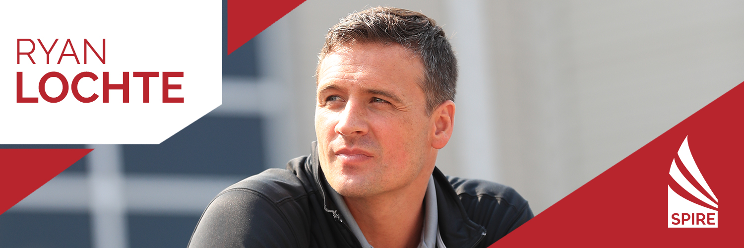 12-time Olympic Medalist Ryan Lochte at SPIRE Institute & Academy (Video)