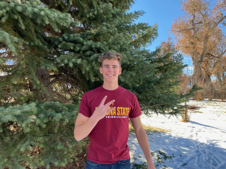 20.9/44.6 Second Sprint Freestyler Jonny Kulow Commits to Arizona State (2022)